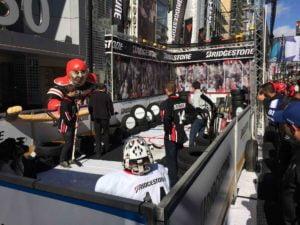 Hypitch Marketing Bridgestone Slap Shot Challenge for NHL All Star Game in Toronto