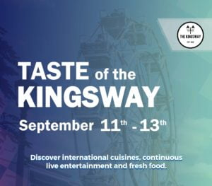 Taste of the Kingsway Poster for 2020